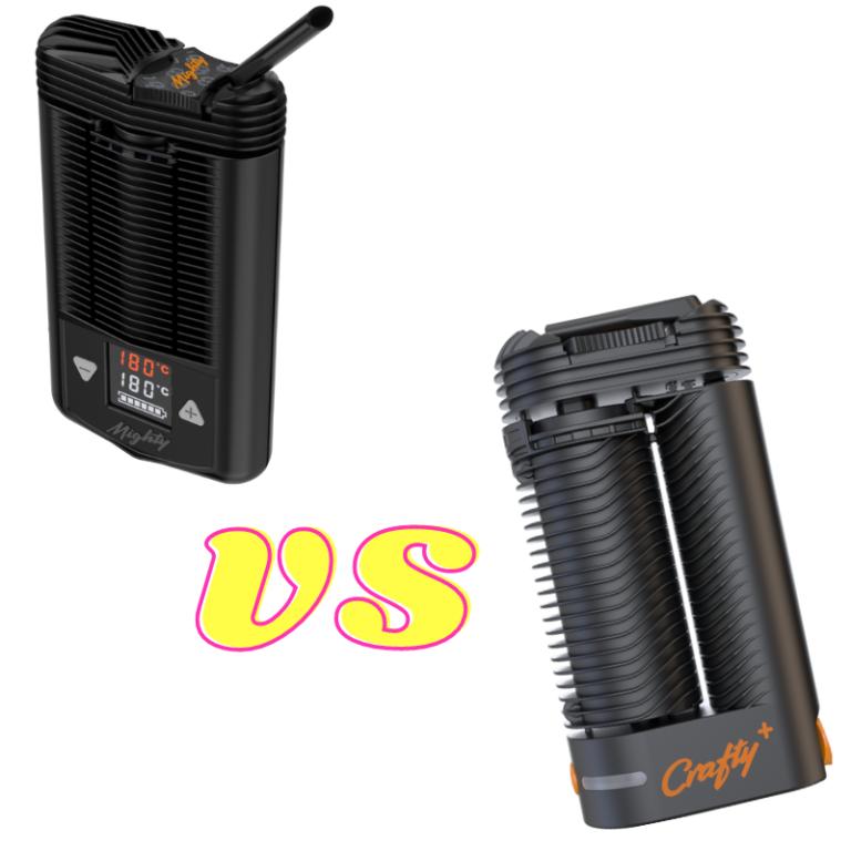 waporyzator Mighty vs waporyzator Crafty+